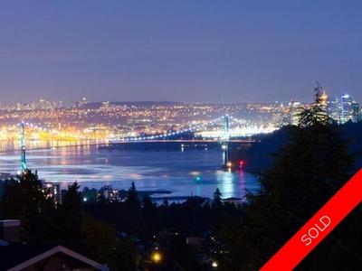 West Vancouver Westmount House For Sale